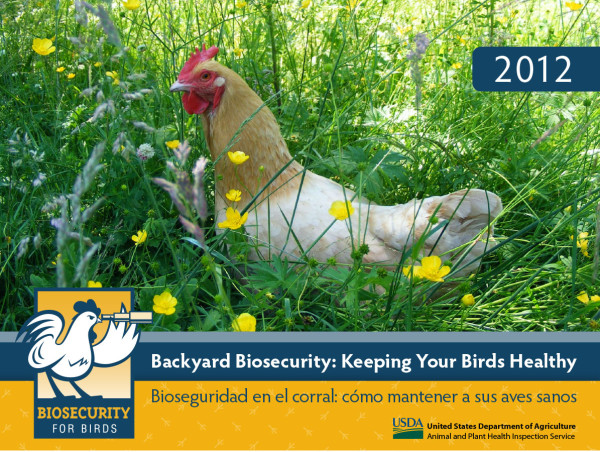 Biosecurity for Birds calendar 2012