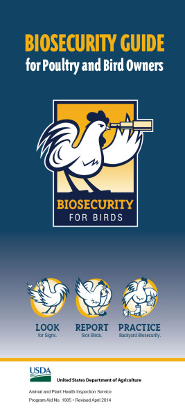 Biosecurity for Birds guide
